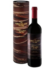 Вино, The Chocolate Tube Primitivo, кр., п/сух., 14,5%, 0,75 л, ст/б/ПК/6