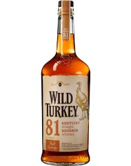Виски, Bourbon Wild Turkey 81, 40,5%, 0,7 л, ст/б/12